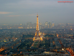 фото с башни монпарнас