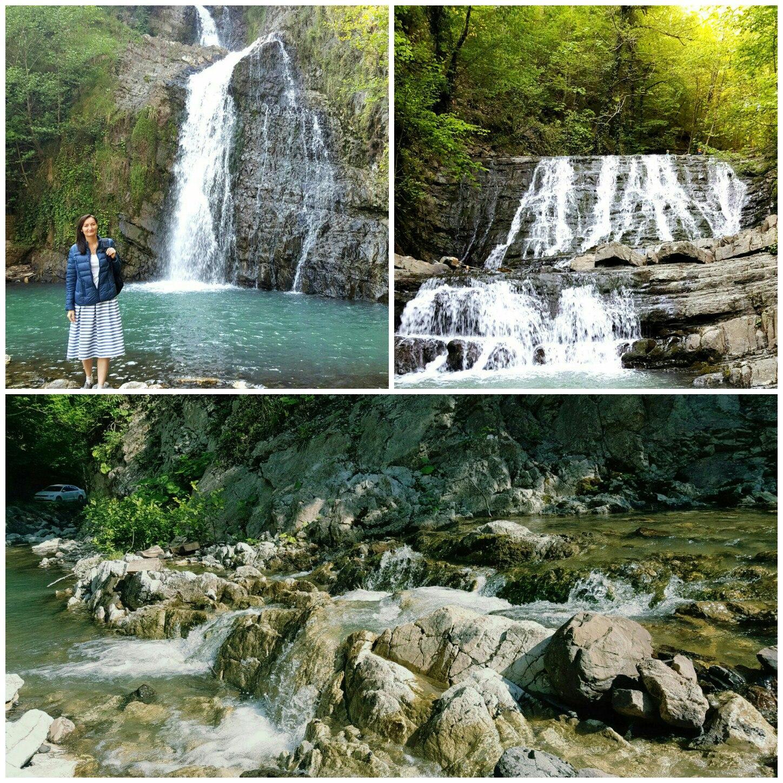 сочи змейковские водопады фото