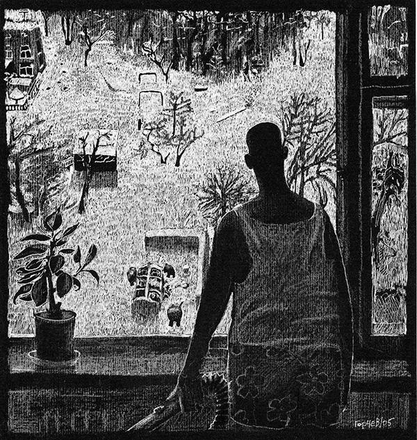 Дмитрий Горчев рисунки