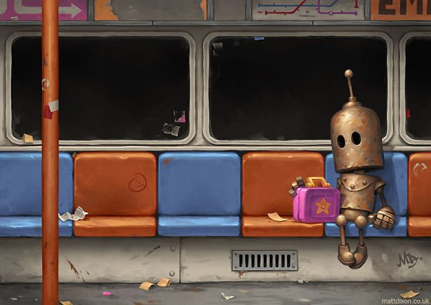 Роботы тоже плачут