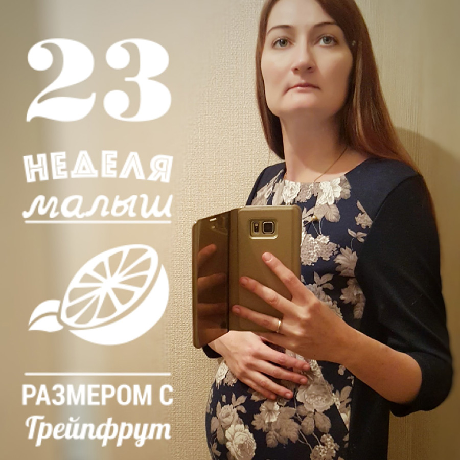 23 неделя беременности: Беременной никто не остается