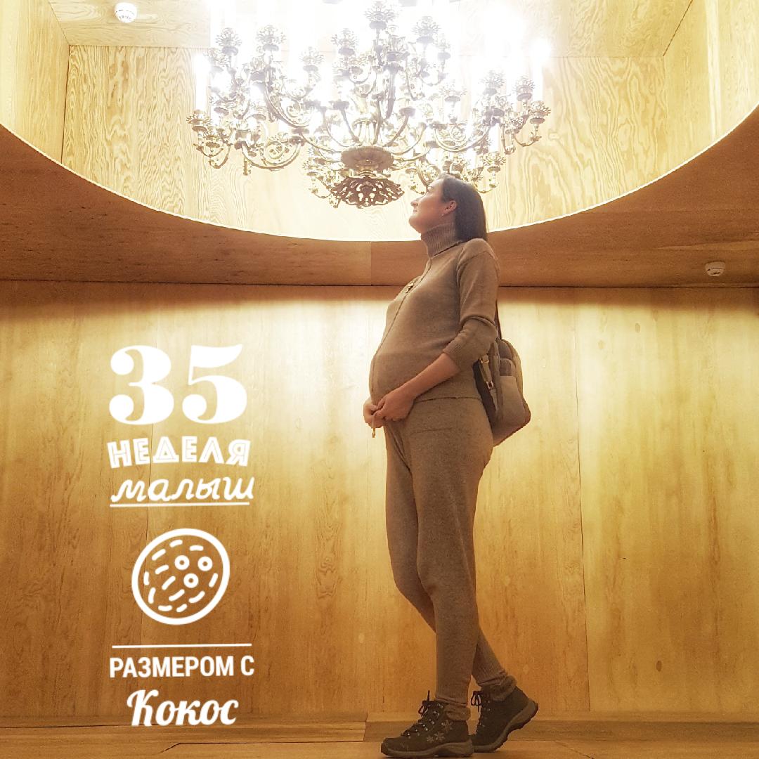 """35 неделя беременности: """"Выросли сердце, кости и жопа"""""""